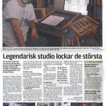 Kungälvs-posten -  Legendarisk studio
